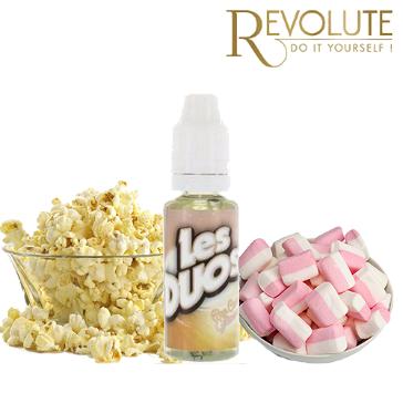 D.I.Y. - 20ml Les Duos Revolute POPCORN & MARSHMALLOW eLiquid Flavor by Nicoflash