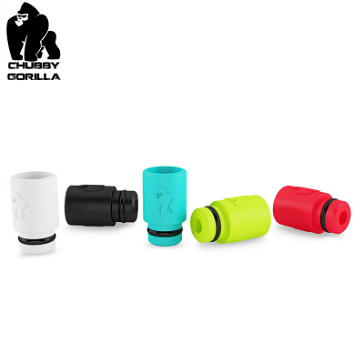 VAPING ACCESSORIES - CHUBBY GORILLA Disposable High Quality 510 Drip Tip ( Black )