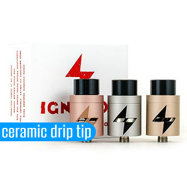 ATOMIZER - CONGREVAPE Ignition Two Post RDA ( Stainless )