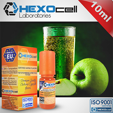 D.I.Y. - 10ml APPLE SPARKLE eLiquid Flavor by HEXOcell