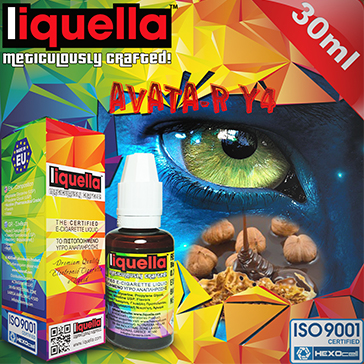 30ml AVATA-R Y4 6mg eLiquid (With Nicotine, Low) - Liquella eLiquid by HEXOcell