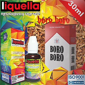30ml BORO BORO 3mg eLiquid (With Nicotine, Very Low) - Liquella eLiquid by HEXOcell