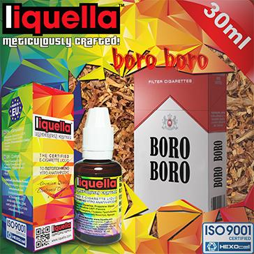 30ml BORO BORO 9mg eLiquid (With Nicotine, Medium) - Liquella eLiquid by HEXOcell