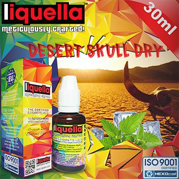 30ml DESERT SKULL DRY 6mg eLiquid (With Nicotine, Low) - Liquella eLiquid by HEXOcell