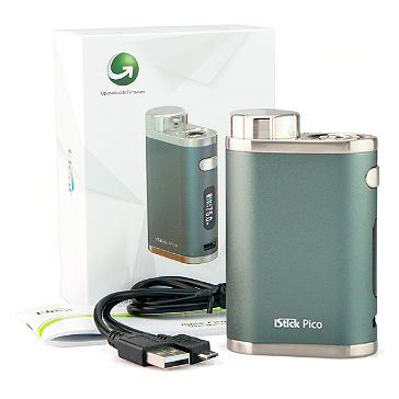 BATTERY - Eleaf iStick Pico 75W TC Box Mod ( Grey )