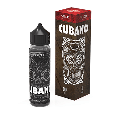 60ml CUBANO 0mg High VG eLiquid (Without Nicotine) - eLiquid by VGOD
