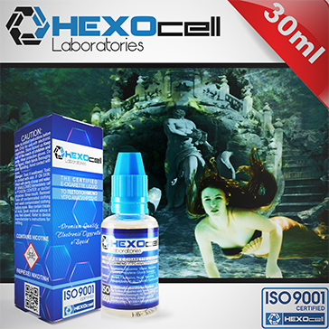 30ml LOST ATLANTIS 6mg eLiquid (With Nicotine, Low) - eLiquid by HEXOcell