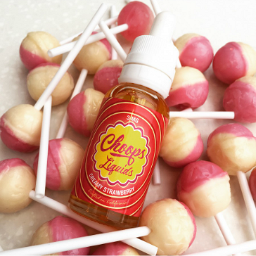 30ml CREAMY STRAWBERRY 3mg eLiquid (With Nicotine, Very Low) - eLiquid by Choops
