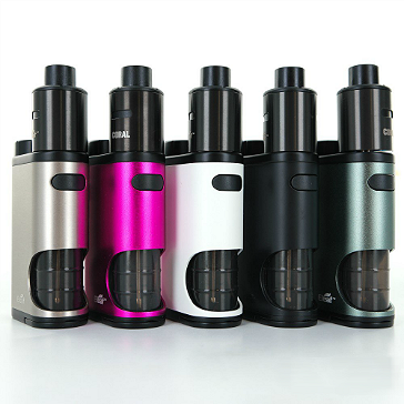 KIT - Eleaf Pico Squeeze Squonk Mod Full Kit ( Red )