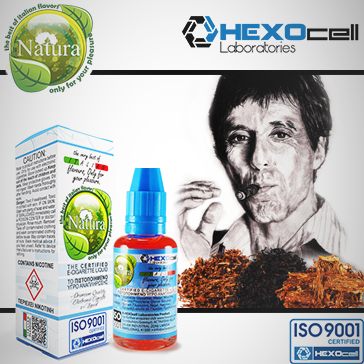 30ml TONY MONTANA 18mg eLiquid (With Nicotine, Strong) - Natura eLiquid by HEXOcell