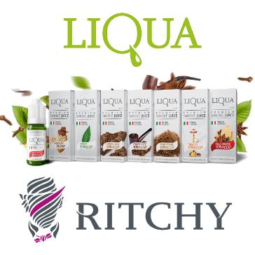 30ml LIQUA C BRIGHT TOBACCO 12mg eLiquid (With Nicotine, Medium) - eLiquid by Ritchy