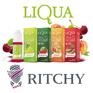 30ml LIQUA C APPLE 12mg eLiquid (With Nicotine, Medium) - eLiquid by Ritchy
