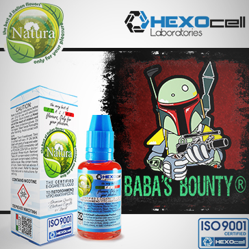 30ml BABA'S BOUNTY 0mg eLiquid (Without Nicotine) - Natura eLiquid by HEXOcell
