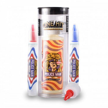 180ml POLICE MAN 3mg MAX VG eLiquid (With Nicotine, Very Low) - eLiquid by One Hit Wonder
