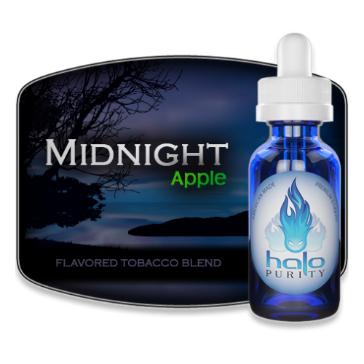 30ml MIDNIGHT APPLE 6mg eLiquid (With Nicotine, Low) - eLiquid by Halo