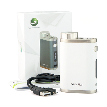 BATTERY - Eleaf iStick Pico 75W TC Box Mod ( White )