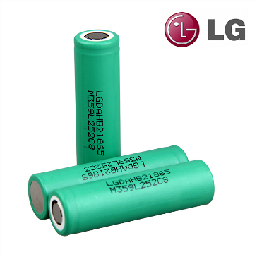 BATTERY - LG HB2 High Drain 18650 Battery ( Flat Top )
