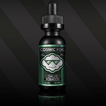 30ml CHILL'D TOBACCO 0mg High VG eLiquid (Without Nicotine) - eLiquid by Cosmic Fog