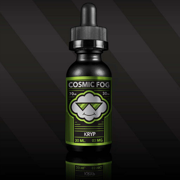 30ml KRYP 3mg High VG eLiquid (With Nicotine, Very Low) - eLiquid by Cosmic Fog