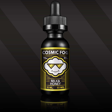 30ml MILK & HONEY 3mg High VG eLiquid (With Nicotine, Very Low) - eLiquid by Cosmic Fog
