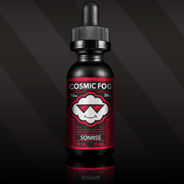 30ml SONRISE 3mg High VG eLiquid (With Nicotine, Very Low) - eLiquid by Cosmic Fog