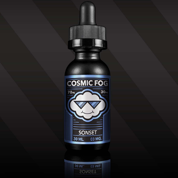 30ml SONSET 3mg High VG eLiquid (With Nicotine, Very Low) - eLiquid by Cosmic Fog