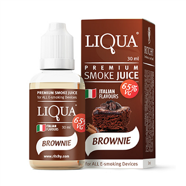 30ml LIQUA C BROWNIE 18mg 65% VG eLiquid (With Nicotine, Strong) - eLiquid by Ritchy