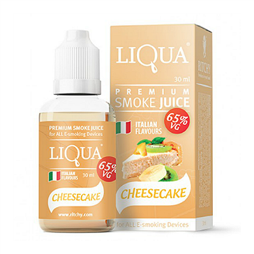 30ml LIQUA C CHEESECAKE 6mg 65% VG eLiquid (With Nicotine, Low) - eLiquid by Ritchy