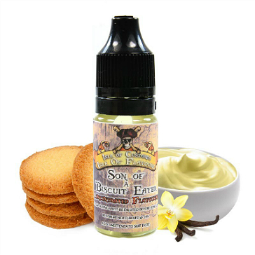 D.I.Y. - 10ml SON OF A BISCUIT EATER eLiquid Flavor by Isle of Custard