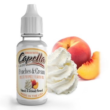 D.I.Y. - 13ml PEACHES & CREAM eLiquid Flavor by Capella