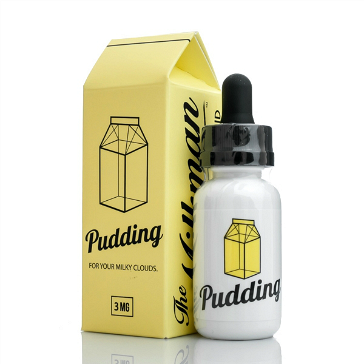 30ml PUDDING 3mg MAX VG eLiquid (With Nicotine, Very Low) - eLiquid by The Vaping Rabbit