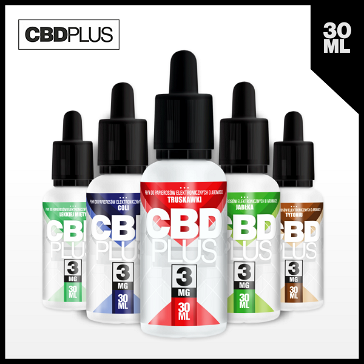 30ml CBD STRAWBERRY 3mg eLiquid (With Nicotine, Very Low) - eLiquid by CBDPLUS
