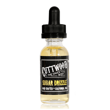 30ml SUGAR DRIZZLE 6mg 70% VG eLiquid (With Nicotine, Low) - eLiquid by Cuttwood