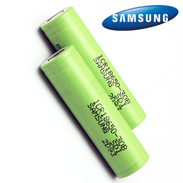 battery samsung icr18650 30b 3000mah rechargeable battery flat top. Black Bedroom Furniture Sets. Home Design Ideas