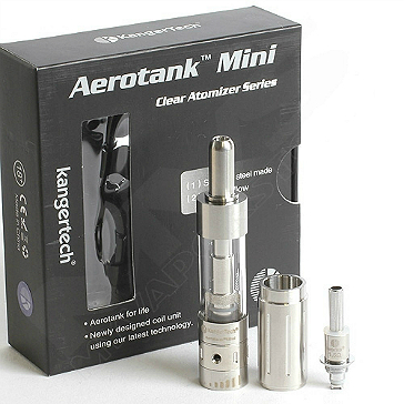 ATOMIZER - KANGER Aerotank Mini BDC Clearomizer - 1.3ML Capacity - 100% Authentic
