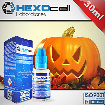 30ml HALLOWEEN FREAK 0mg 80% VG eLiquid (Without Nicotine) - eLiquid by HEXOcell