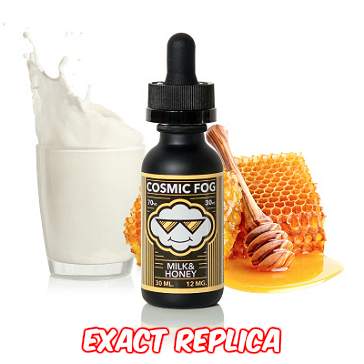 30ml MILK & HONEY 0mg High VG eLiquid (Without Nicotine) - Cosmic Fog eLiquid