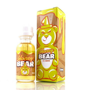 30ml HONEY BEAR 3mg 80% VG eLiquid (With Nicotine, Very Low) - eLiquid by Marina Vape