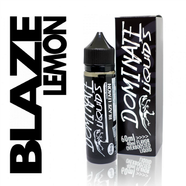 D.I.Y. - 40ml BLAZE LEMON 0mg High VG TPD Compliant Shake & Vape eLiquid by Dominate