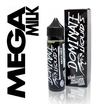 D.I.Y. - 40ml MEGA MILK 0mg High VG TPD Compliant Shake & Vape eLiquid by Dominate