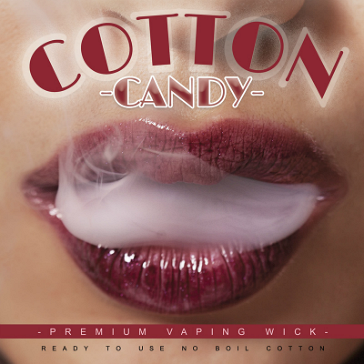 VAPING ACCESSORIES - Cotton Candy Premium Wick