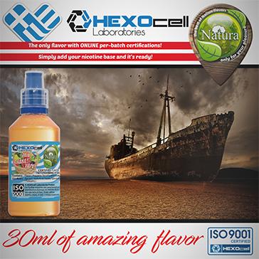 D.I.Y. - 30ml DESERT SHIP 0mg 65% VG TPD Compliant Shake & Vape eLiquid by Natura