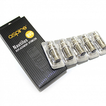ATOMIZER - 5x BVC Atomizer Heads for ASPIRE Nautilus & Nautilus Mini ( 1.6 ohms ) - 100% Authentic
