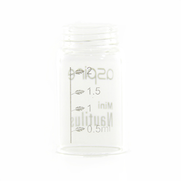 ATOMIZER - ASPIRE Nautilus Mini Replacement Tank ( Pyrex Glass ) - 2ML Capacity - 100% Authentic
