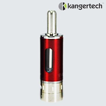 ATOMIZER - KANGER Mow / eMow Upgraded V2 BDC Clearomizer ( Cherry ) - 1.5 Ohms / 1.8ML Capacity - 100% Authentic