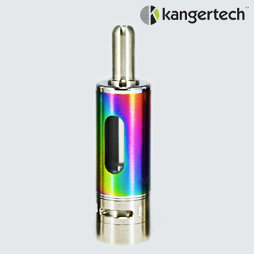 ATOMIZER - KANGER Mow / eMow Upgraded V2 BDC Clearomizer ( Rainbow ) - 1.5 Ohms / 1.8ML Capacity - 100% Authentic