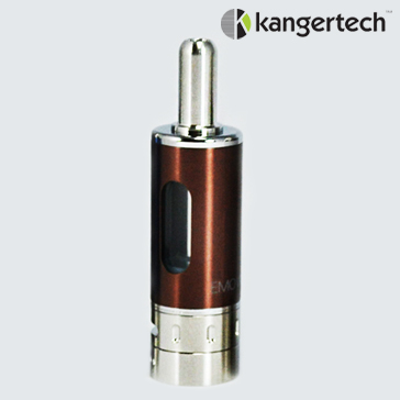 ATOMIZER - KANGER Mow / eMow Upgraded V2 BDC Clearomizer ( Brown ) - 1.5 Ohms / 1.8ML Capacity - 100% Authentic