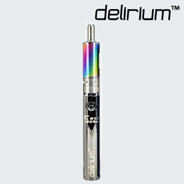 KIT - Kanger Aerotank Mow & delirium Cell 1300mAh Battery ( Variable Airflow eGo / eVod APV Kit - Rainbow )