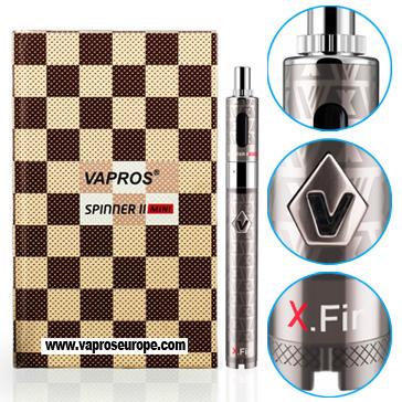 KIT - VISION / VAPROS Spinner 2 (II) Mini 850mA VV BDC Kit ( 3.3V - 4.8V ) - 100% Authentic ( Stainless )