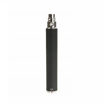 BATTERY - eGo Spinner 1300mA High Quality Variable Voltage Battery ( 3.3V - 4.8V ) - Black